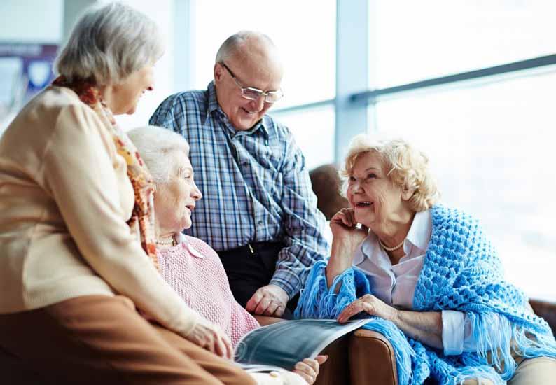 Удовлетворенность жизнью в пожилом возрасте